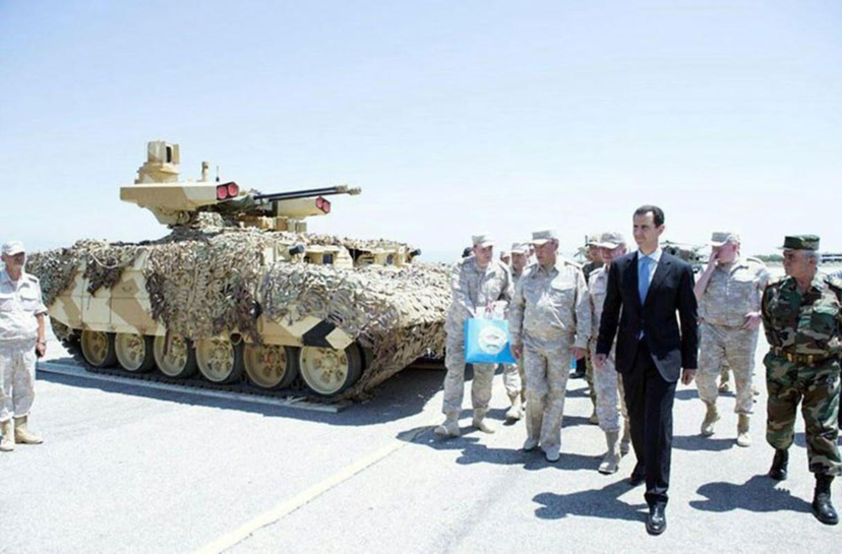 """Ke huy diet"" BMPT-72 da toi Syria, phien quan hoang loan"