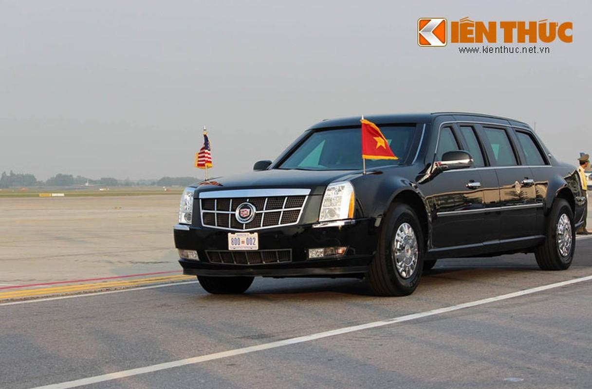 Toan canh Le don Tong thong Donald Trump tai san bay Noi Bai