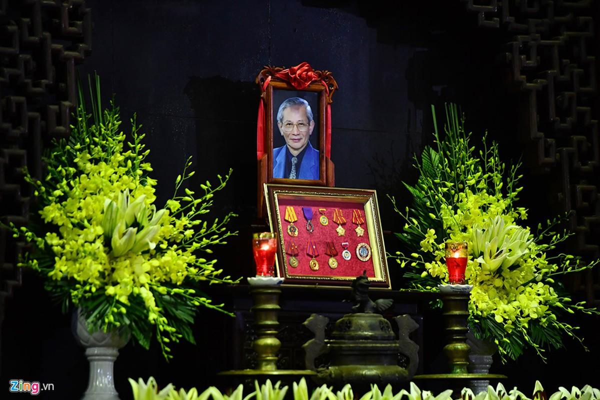 Lanh dao Dang, Nha nuoc va ban be tien biet giao su Phan Huy Le
