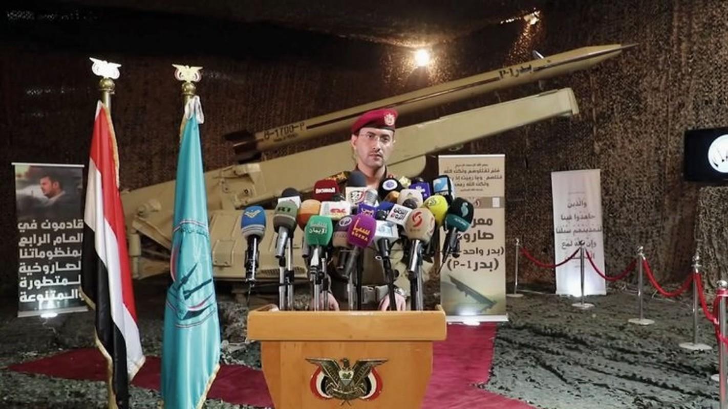"""Kinh ngac ten lua dan dao cua Houthi khien A Rap Xe-ut """"khoc thet"""""""
