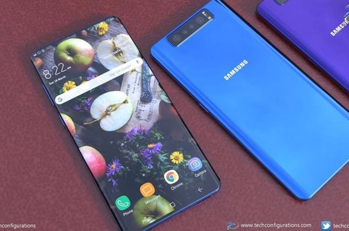 Samsung Galaxy S11 lo dien, iPhone XI cung phai chao thua