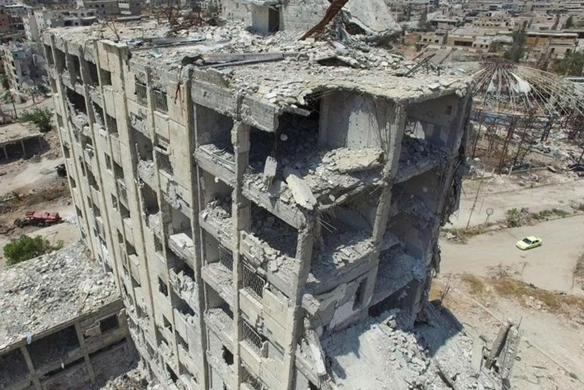 Chien su o cua ngo thanh pho Aleppo nhin tu tren khong-Hinh-3