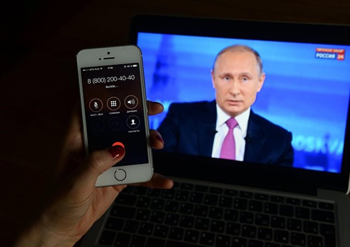 """Chum anh """"Giao luu truc tiep"""" voi Tong thong Nga Vladimir Putin-Hinh-9"""