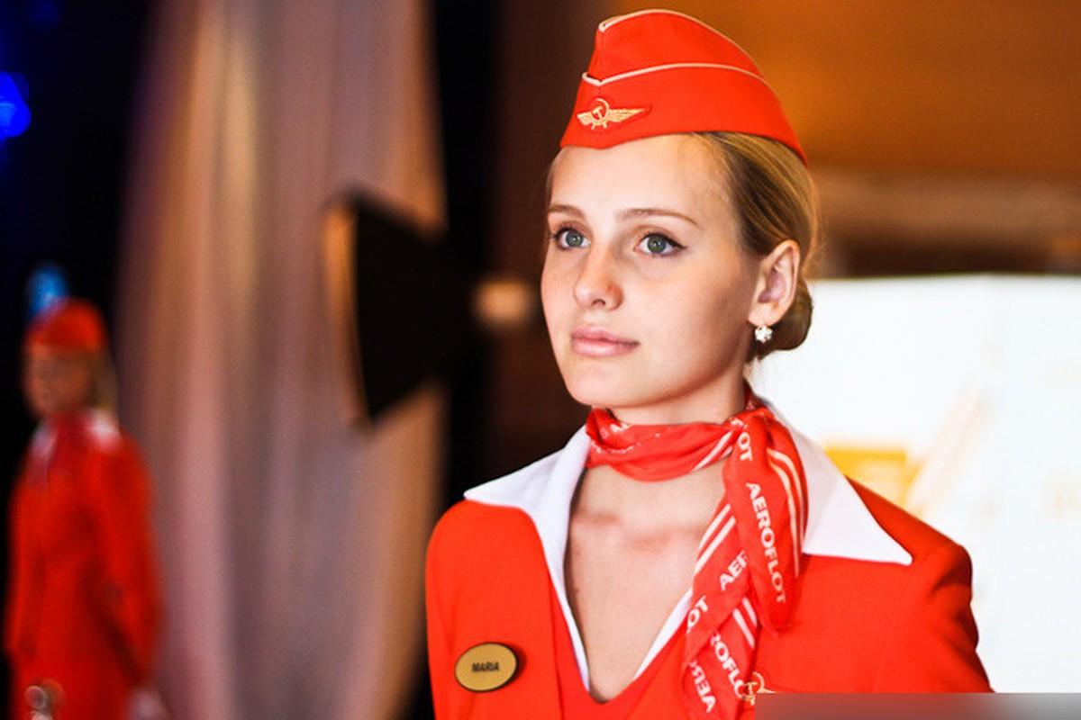 Anh: Cac nu tiep vien xinh dep Aeroflot-Hinh-10