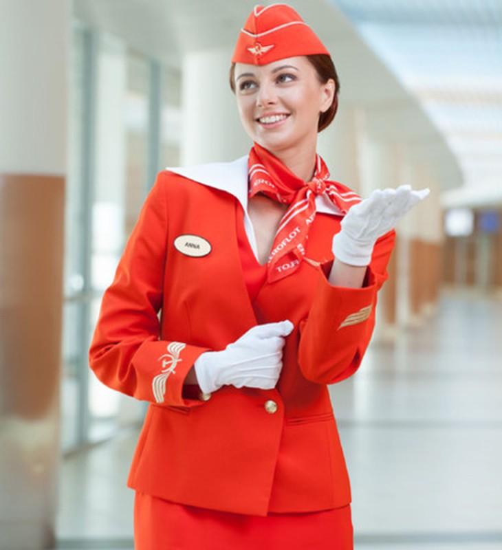 Anh: Cac nu tiep vien xinh dep Aeroflot-Hinh-12