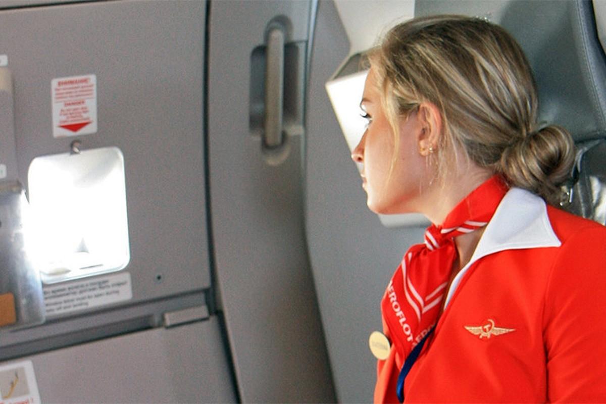Anh: Cac nu tiep vien xinh dep Aeroflot-Hinh-13