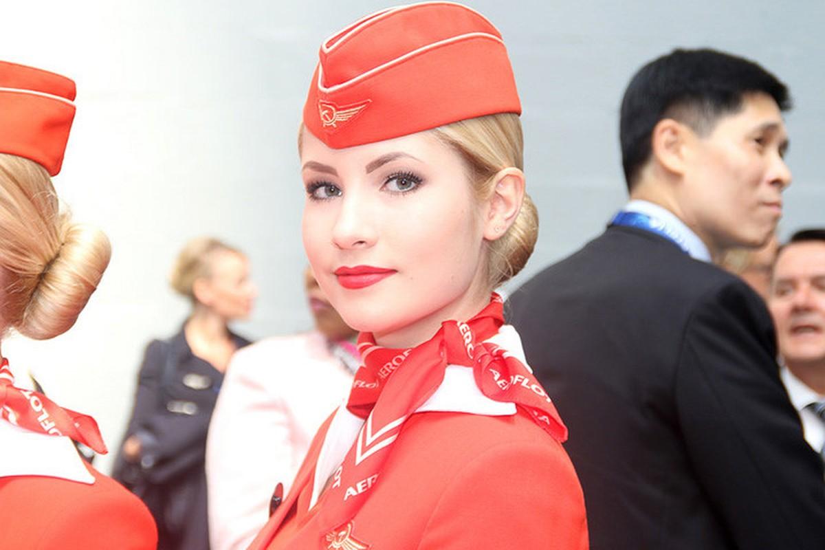 Anh: Cac nu tiep vien xinh dep Aeroflot-Hinh-2