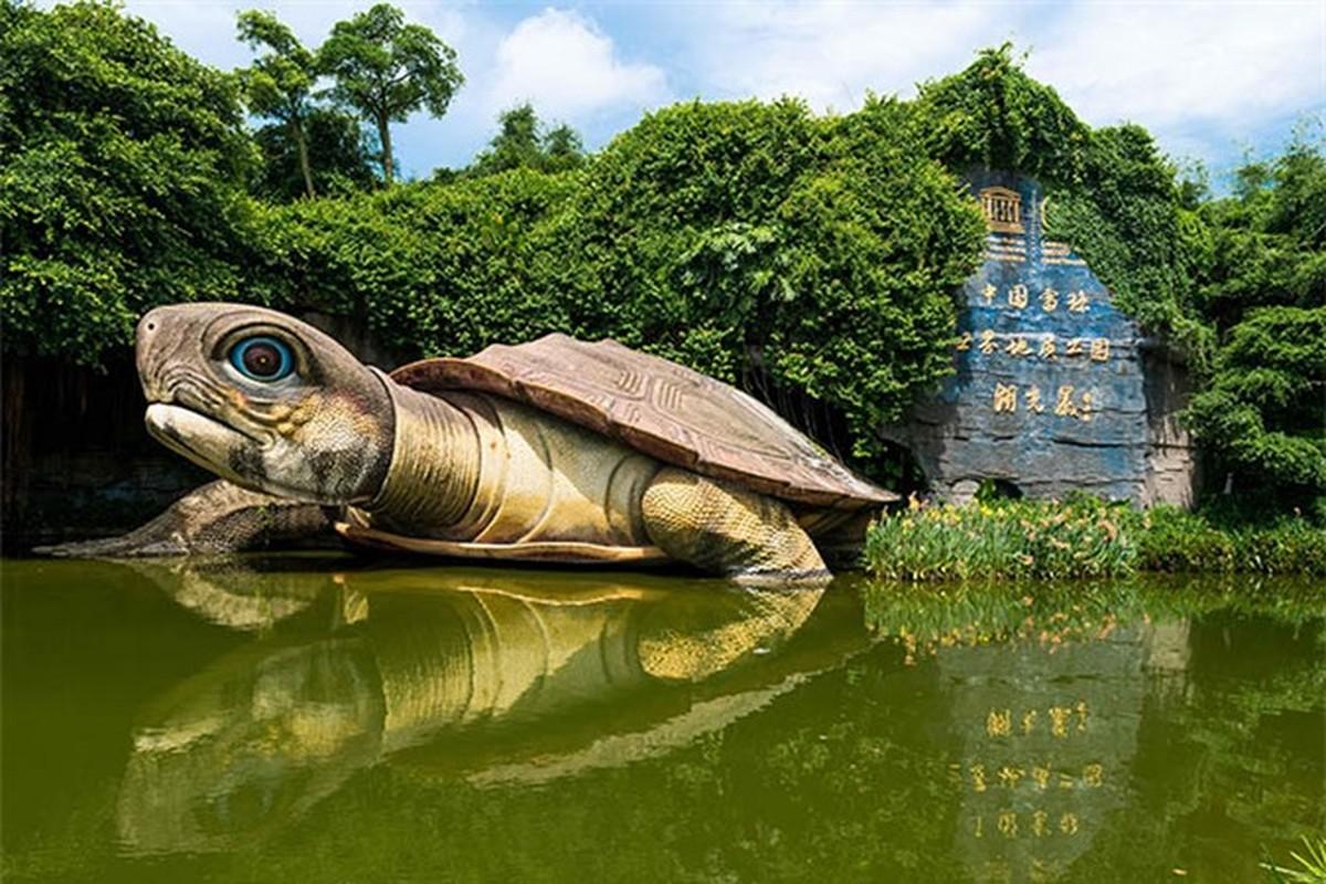 Kinh ngac noi tru ngu bi an cua thuy quai Trung Quoc-Hinh-4