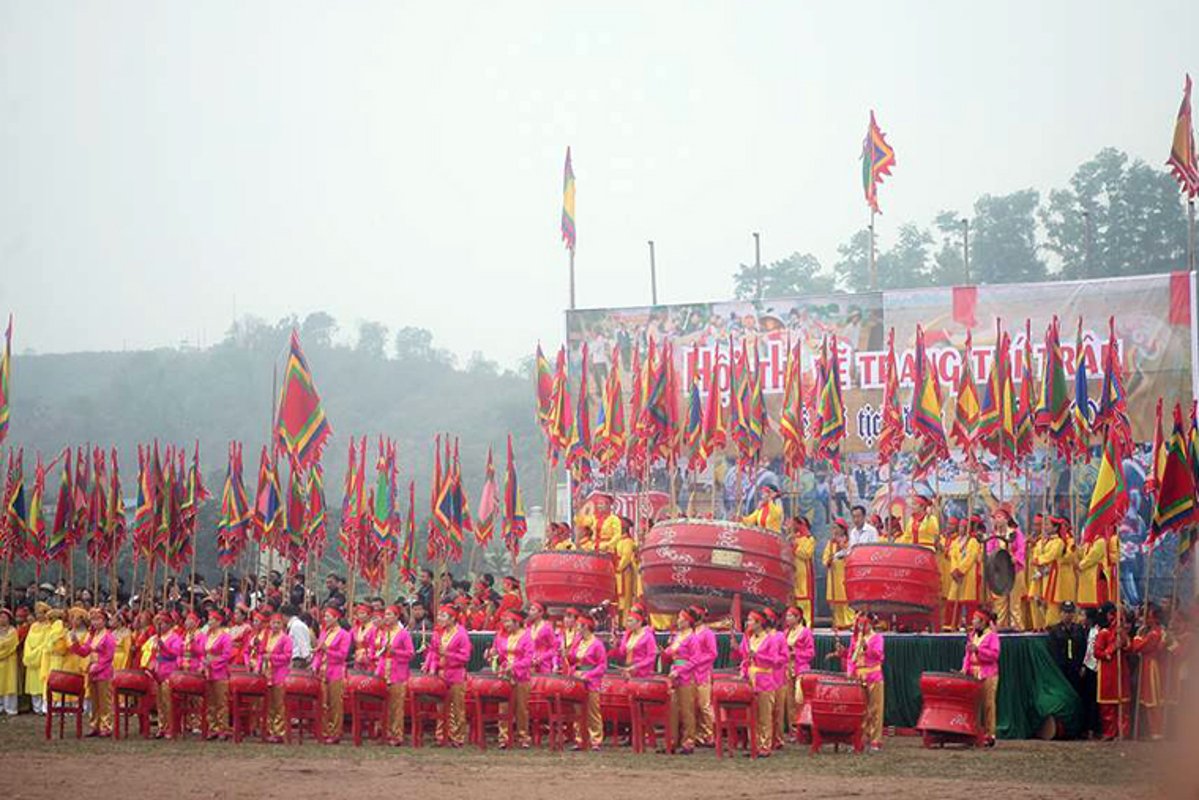 Anh: Chu tich nuoc Tran Dai Quang lai may cay o le hoi Tich Dien-Hinh-10