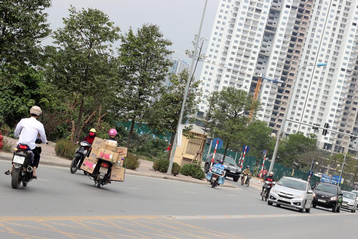 Anh: Dong xe may di nguoc chieu gay nao loan duong Ha Noi-Hinh-3