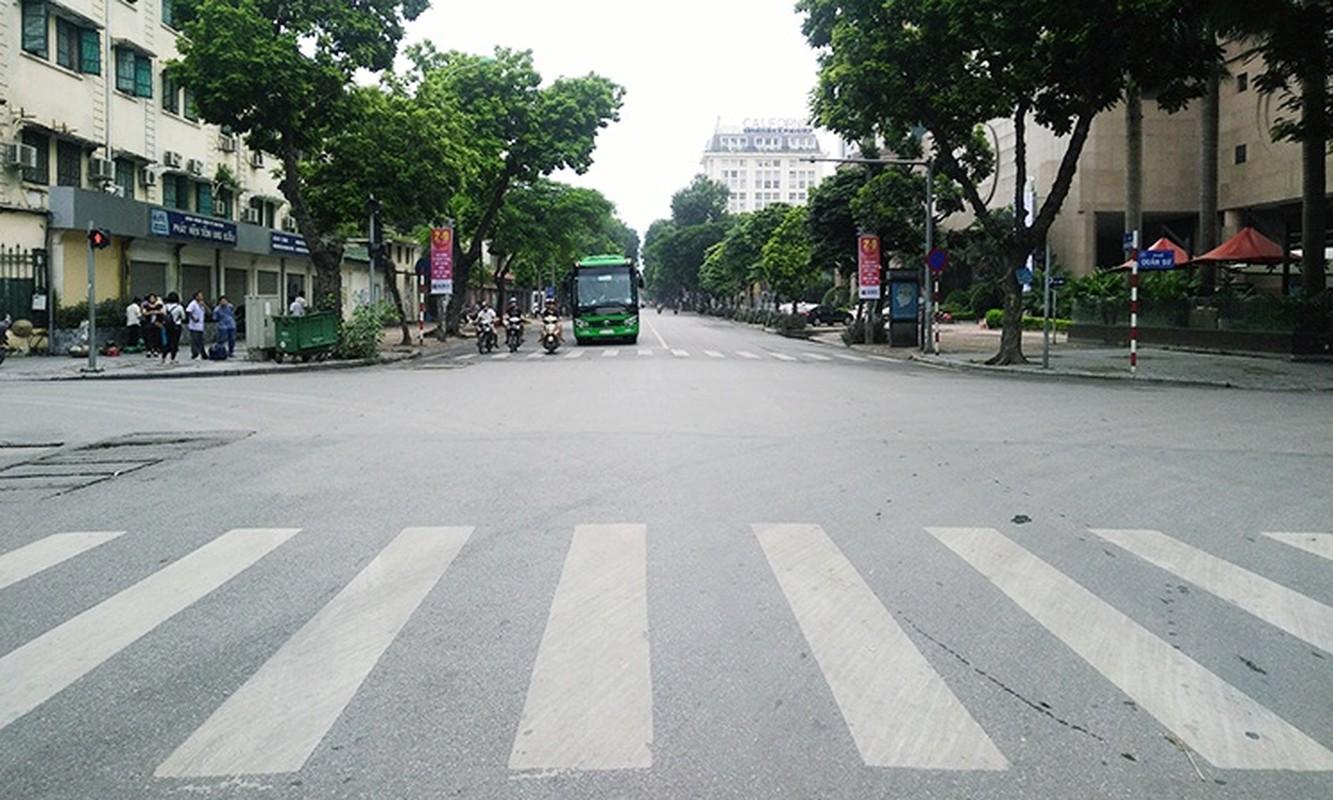Chum anh: Ha Noi vang lang, yen binh ngay Quoc khanh 2/9