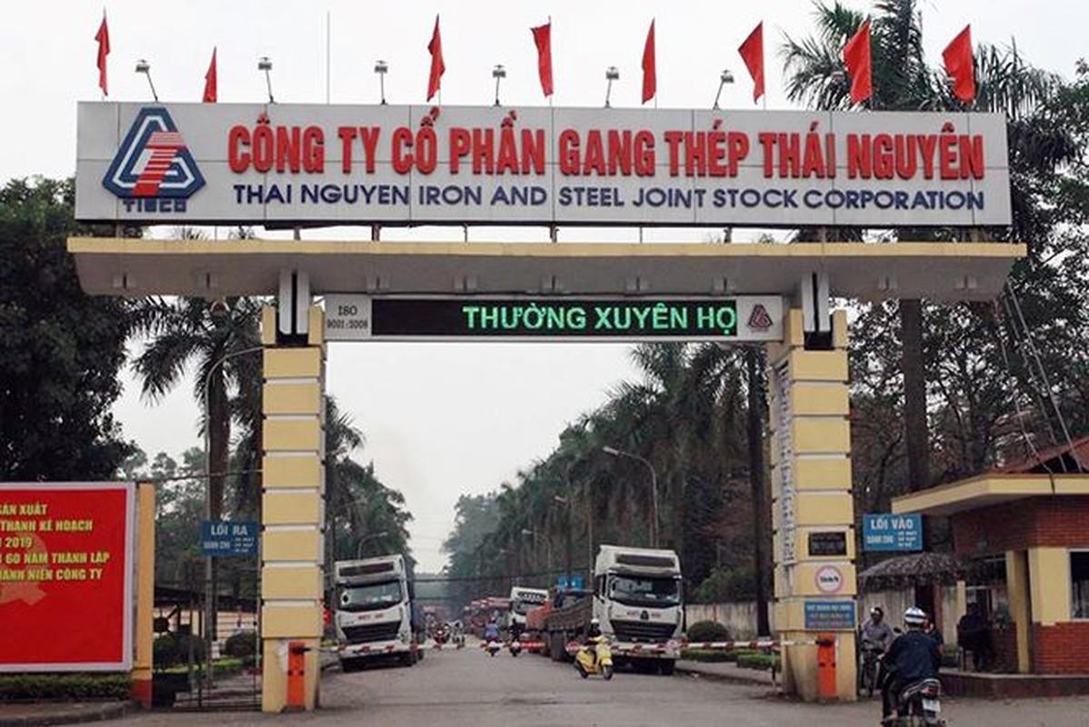 Ngan ngam canh 35.000 tan vat lieu Gang thep Thai Nguyen