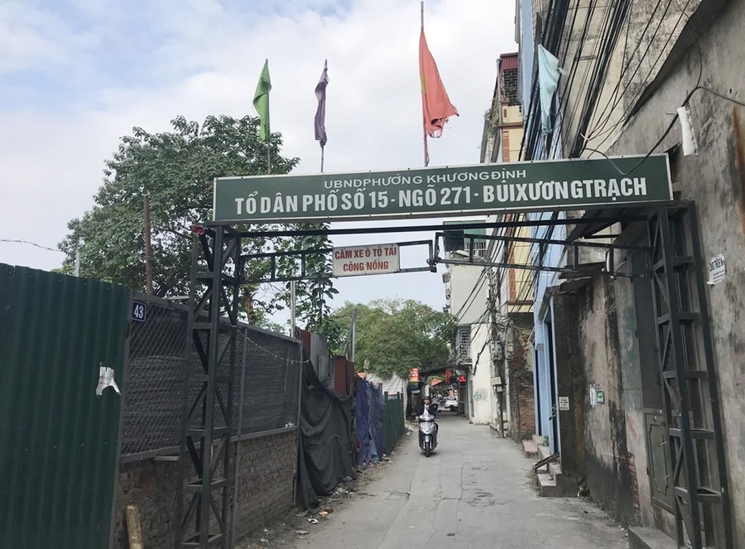 Can canh hang loat cong trinh xay dung trai phep tren dat nong nghiep o Khuong Dinh