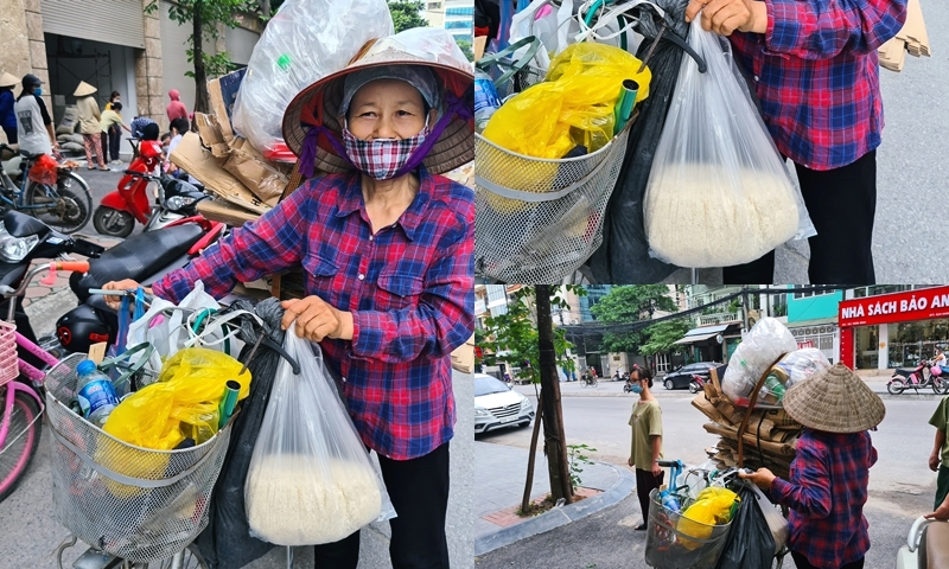 "Nguoi ngheo xep hang tu sang nhan gao mien phi o ""cay ATM""-Hinh-10"
