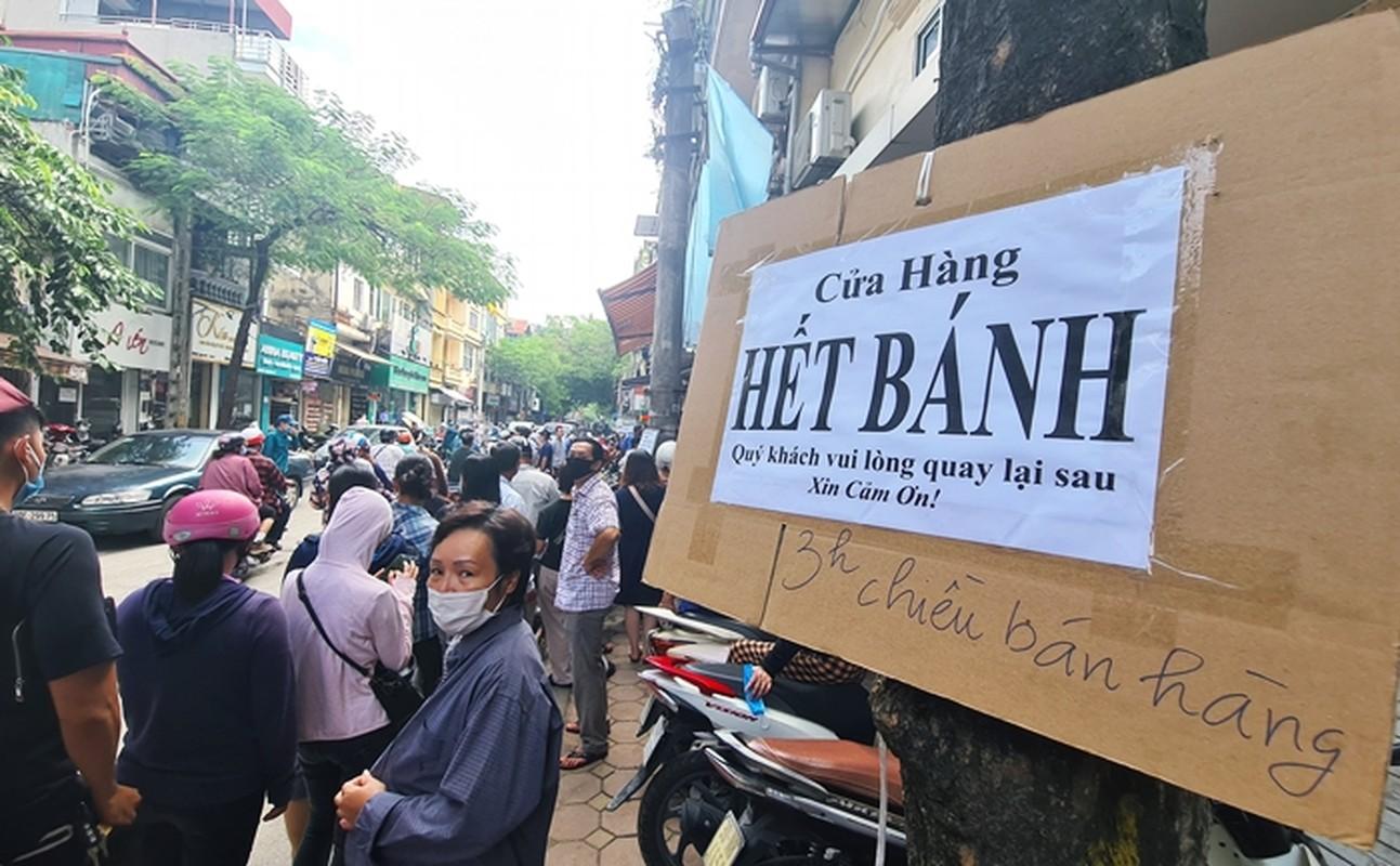 """""""Rong ran"""" xep hang cho tu sang den chieu mua banh trung thu truyen thong o HN-Hinh-7"""