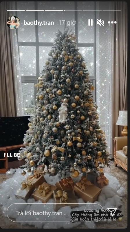 Khong khi Noel ben trong biet thu trang cua vo chong Bao Thy-Hinh-6