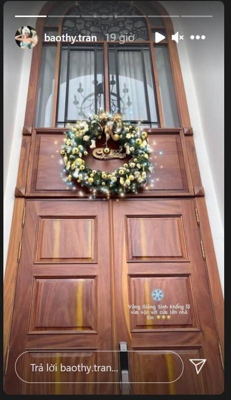 Khong khi Noel ben trong biet thu trang cua vo chong Bao Thy-Hinh-8