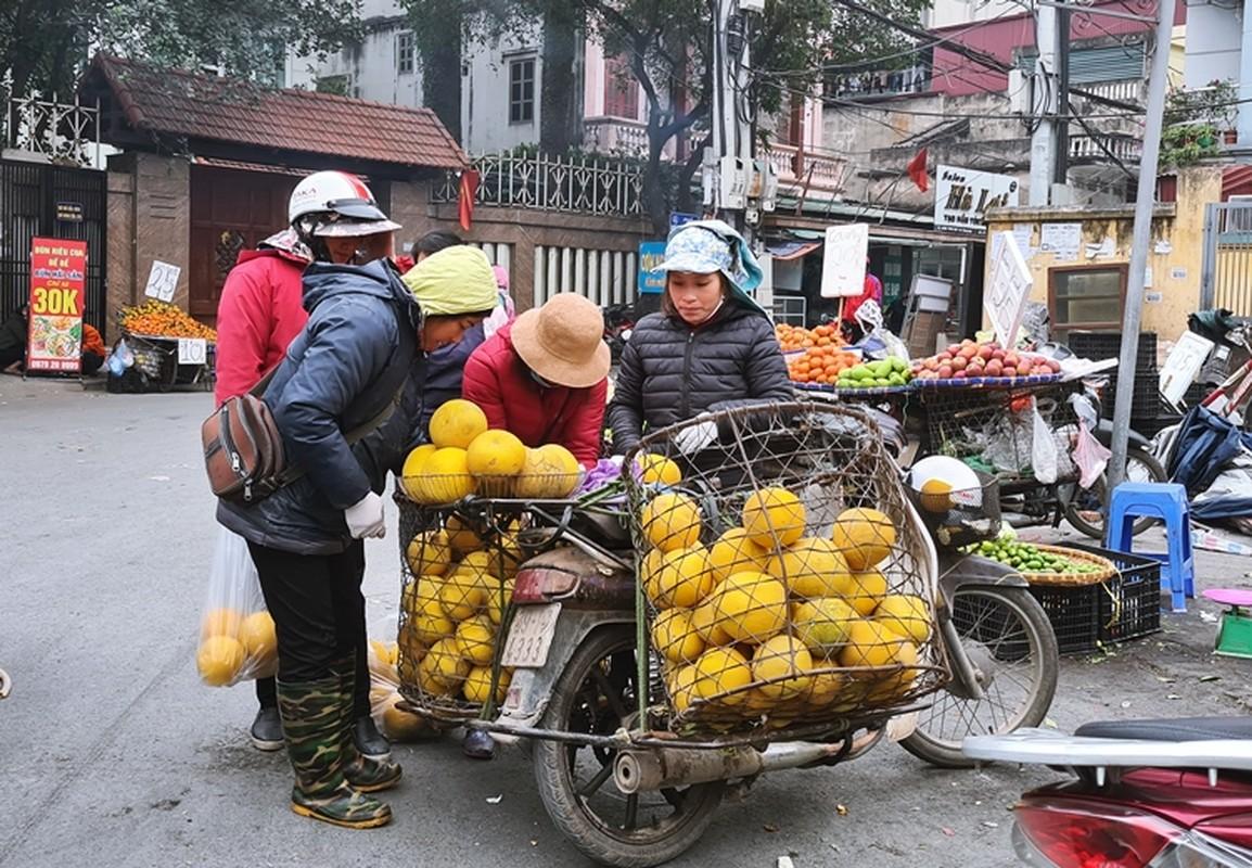 Ha Noi: Hoa qua khong ro nguon goc dua nhau xa hang can Tet-Hinh-9