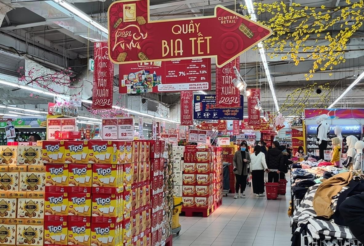 Hang hoa Tet doi dao, banh keo can len ngoi can Tet 2021-Hinh-11