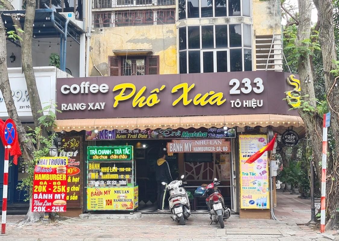 Cafe, hang an o Ha Noi