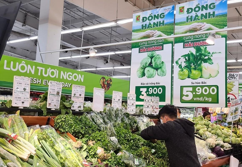 """Sieu thi BigC, Co.opmart, Vinmart vao cuoc """"giai cuu"""" nong san Hai Duong-Hinh-3"""