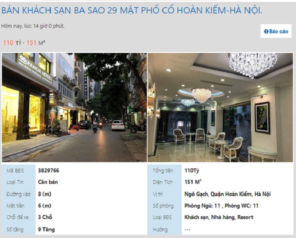 Ha Noi: Loat khach san sang chanh o pho co giam gia, dong cua, rao ban sau Tet-Hinh-10