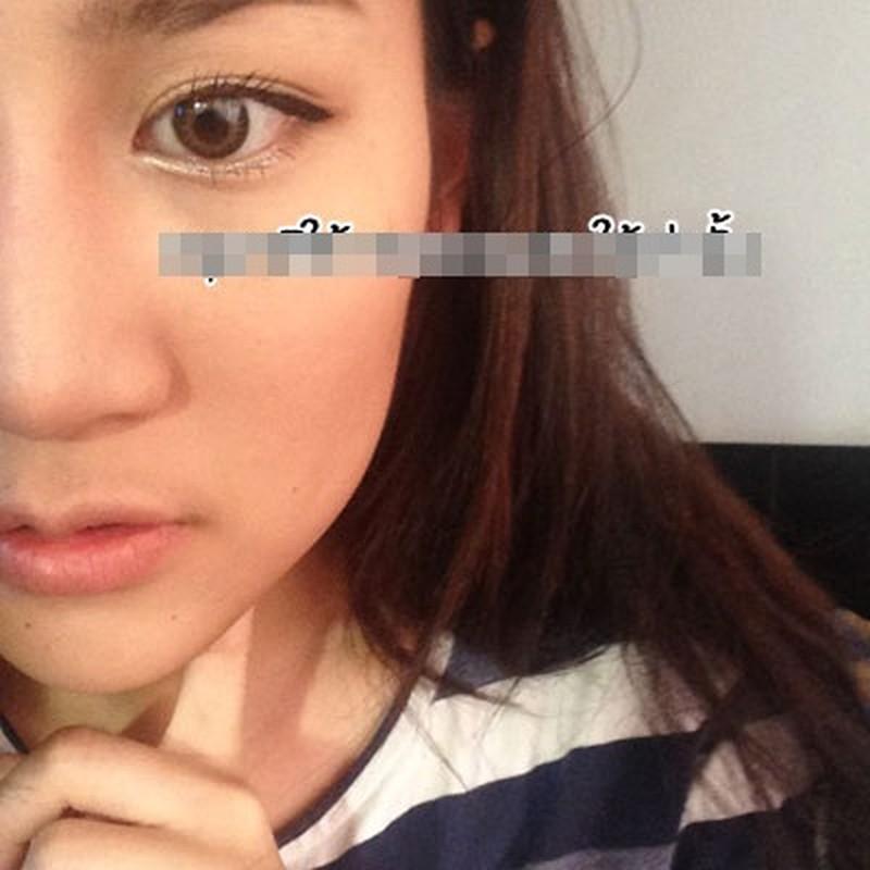 Gai xinh Thai Lan cat thit o ma lam cam V-line-Hinh-2
