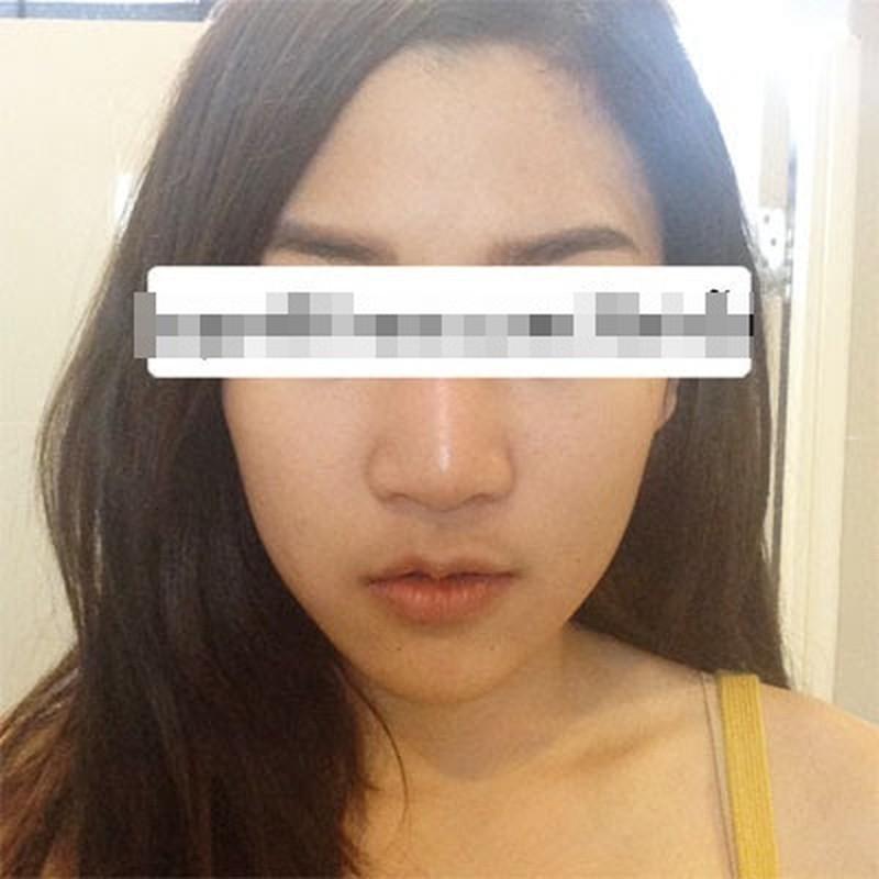 Gai xinh Thai Lan cat thit o ma lam cam V-line-Hinh-6