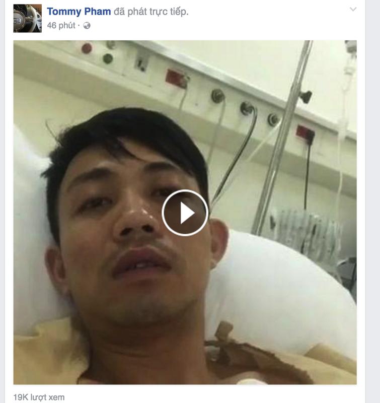 Dai gia Minh Nhua tu tu tren Facebook: Se khong dam chet dau!