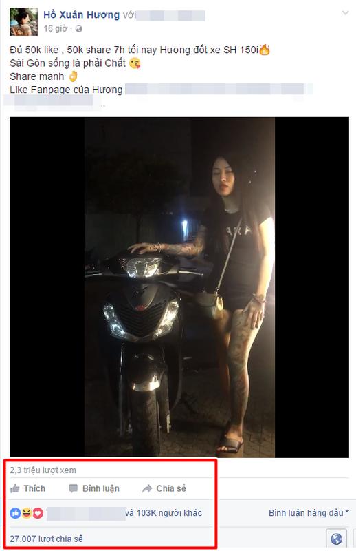 "Het tam tien, hot girl xam tro lai ""cau like"" dot xe SH-Hinh-2"