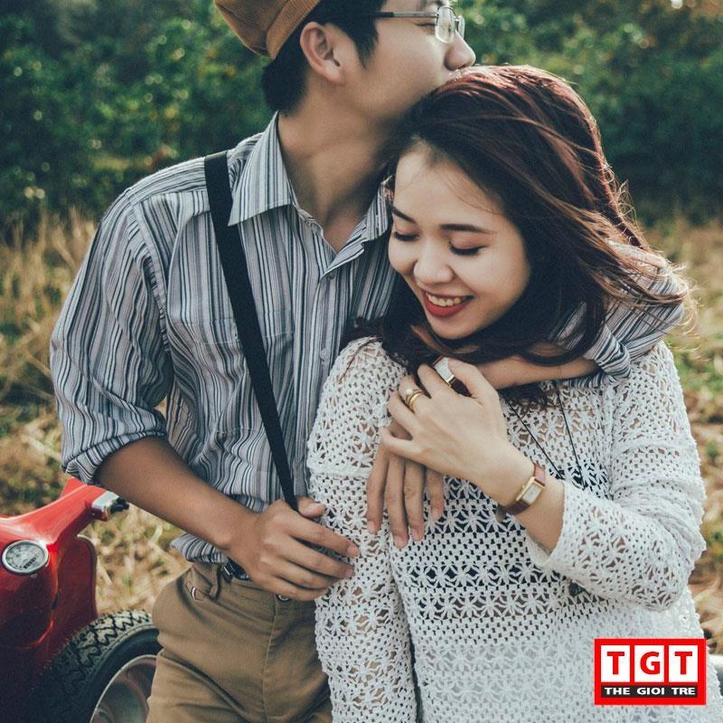 Bo anh Valentine ngot ngao cua cap doi Buon Ma Thuot