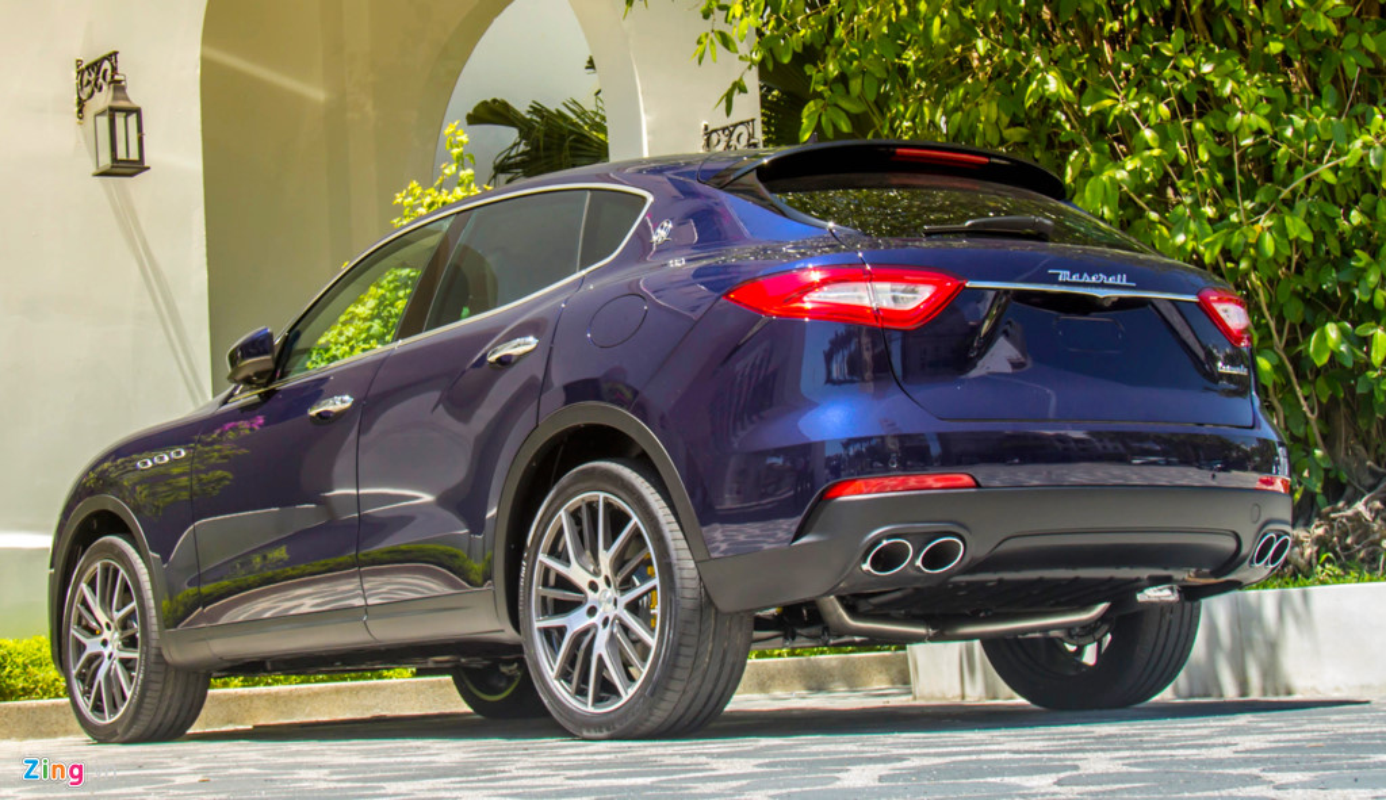 SUV hang sang Maserati Levante mau la o Da Nang-Hinh-2
