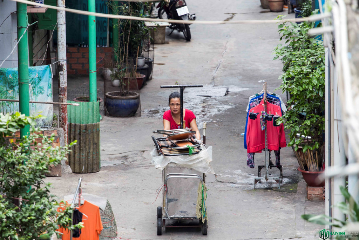 Anh: Hao Si Phuong - con hem co kien truc doc dao o Sai Gon-Hinh-15