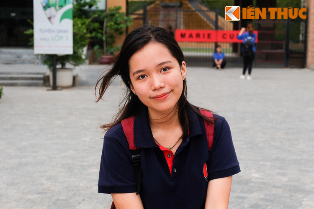 Ngam net xinh tuoi, trong sang cua nu sinh thi THPT Quoc gia 2017