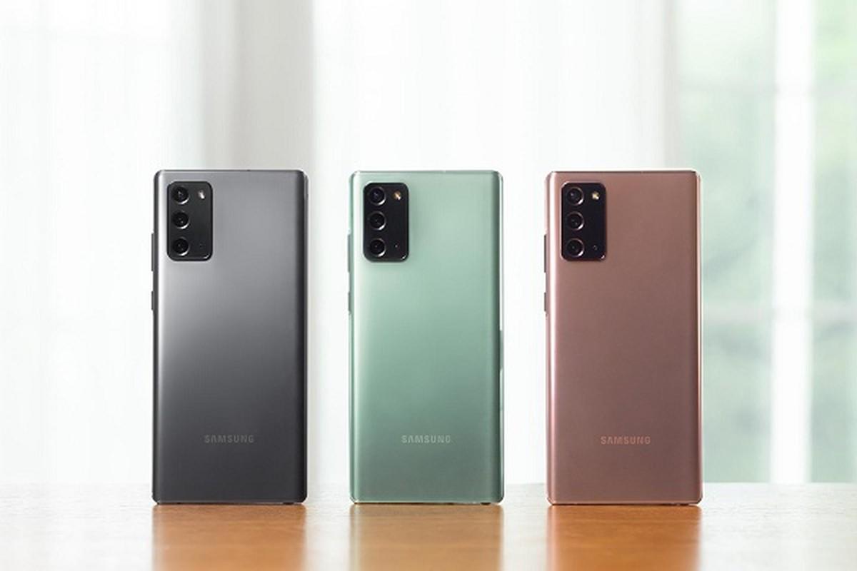 Samsung Galaxy Note 20: Dien thoai vo nhua dang gia... 1000 USD?