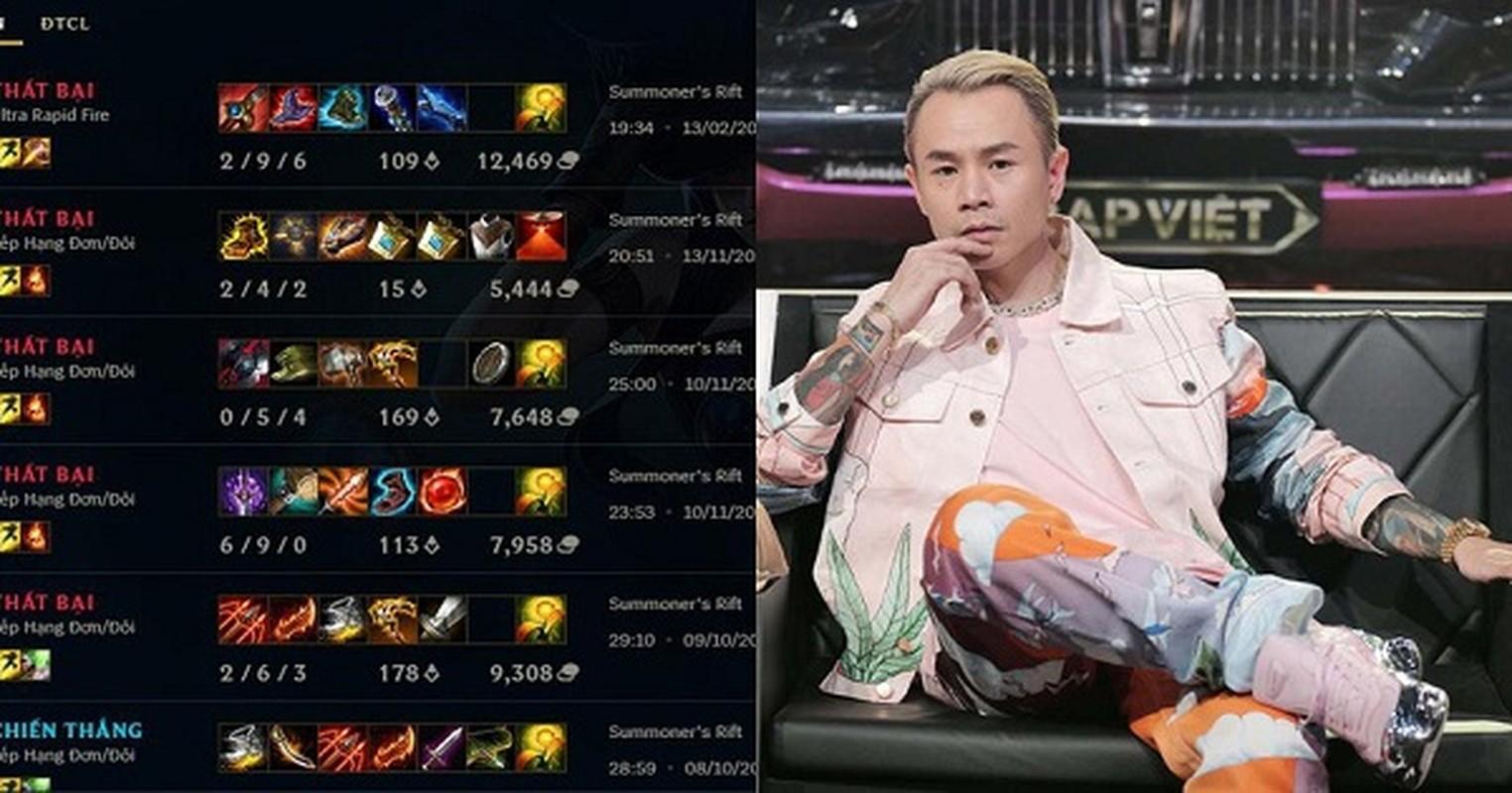 Hoa ra Binz, Son Tung M-TP va Den Vau cung la fan cuong LMHT