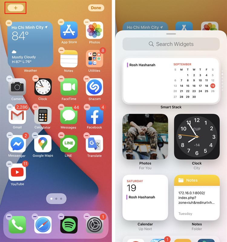 "Tinh nang Widget tu che man hinh ""go diem"" cho iOS 14 sau loat loi lon-Hinh-8"
