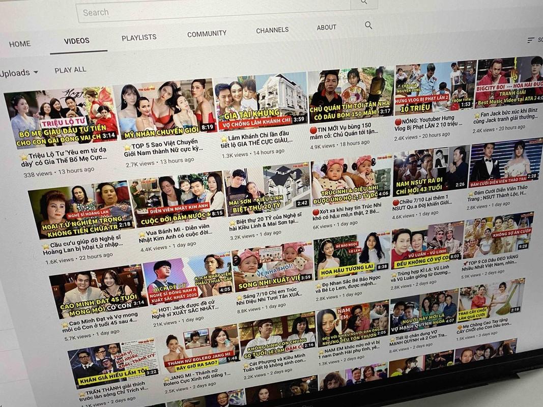 "Diem mat kenh Youtube Viet chuyen ""chom"" ban quyen, cau view re tien-Hinh-2"
