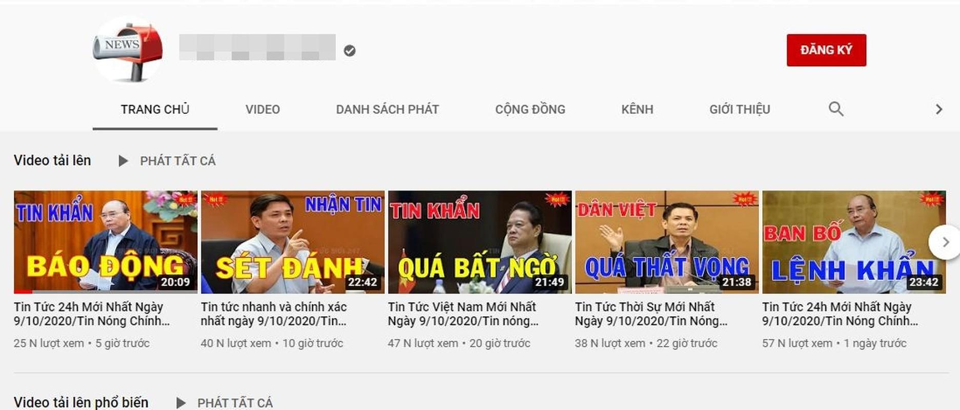 "Diem mat kenh Youtube Viet chuyen ""chom"" ban quyen, cau view re tien-Hinh-6"