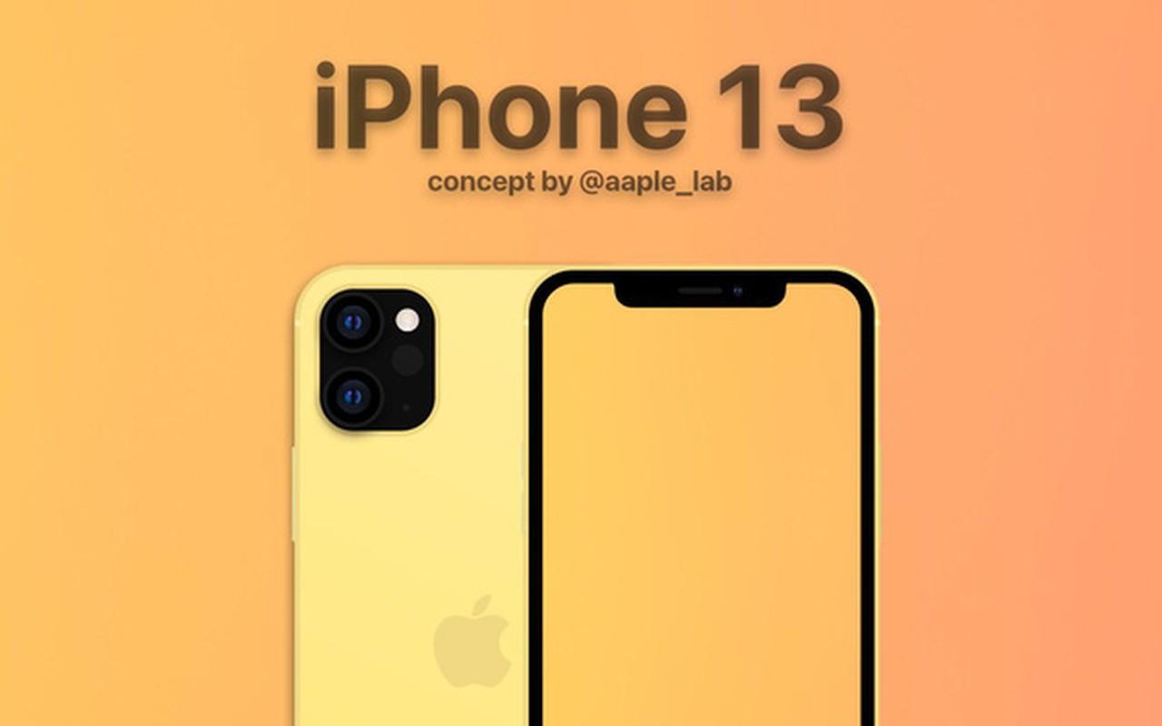 iPhone 13 lo thiet ke cam bien van tay sau khi iPhone 12... trinh lang
