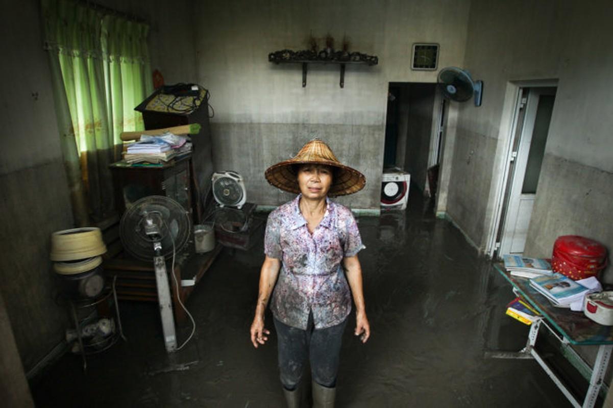 Mua lu o Quang Ninh: Nhung hinh anh dau long khi nuoc rut-Hinh-2