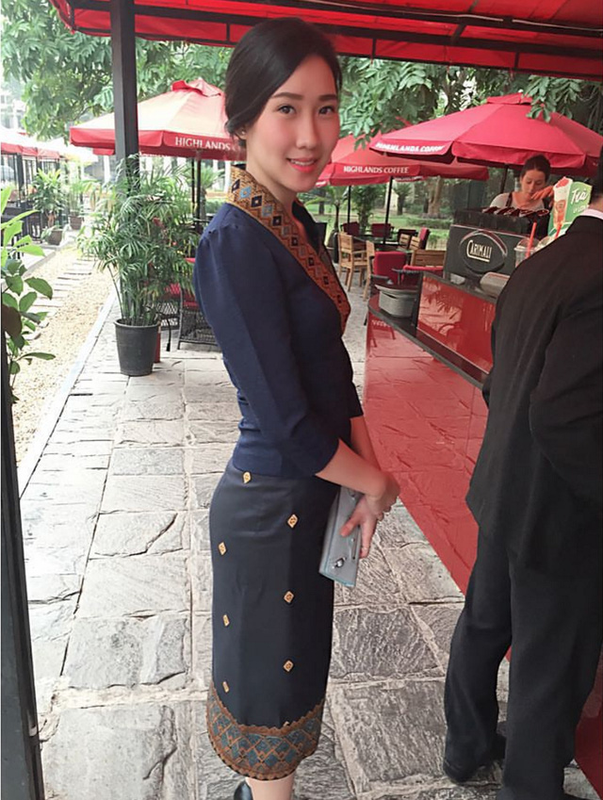 Nu sinh nguoi Lao goc Viet la hot girl truong Ngoai giao-Hinh-9