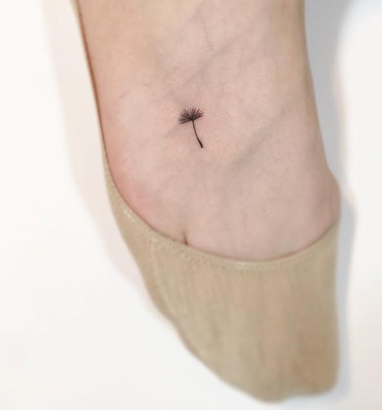 Mau xam mini tattoo cuc dinh danh cho cac ban gai-Hinh-2