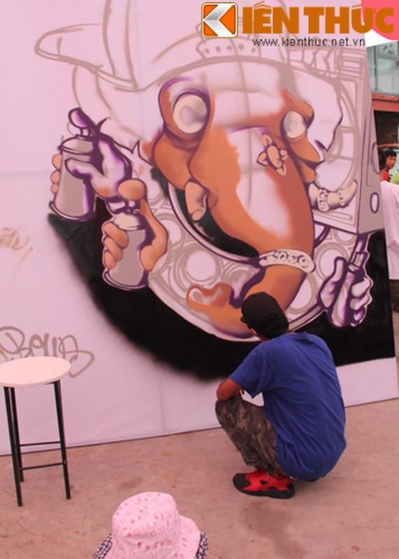 Graffiti Festival 2016 thu hut gioi tre yeu nghe thuat duong pho-Hinh-9