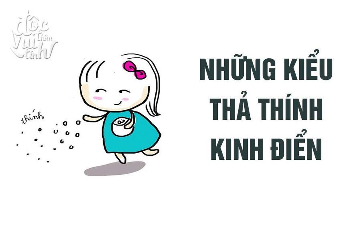"""Cac kieu """"tha thinh"""" thuong thay cua co nang thoi dai @"""