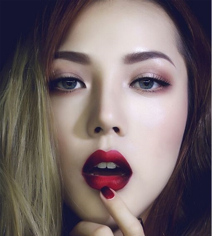 """Phu thuy makeup"" va nhan sac hoa hon nguyet then-Hinh-10"