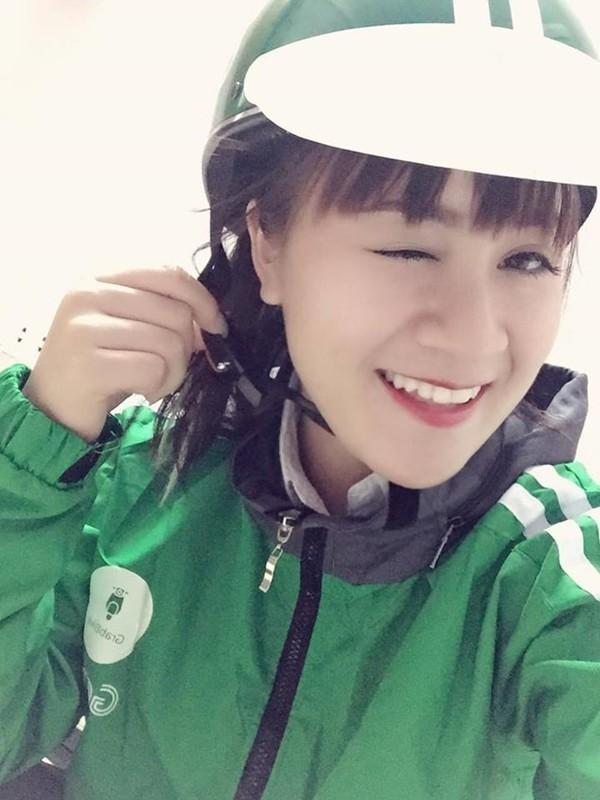 "Nu tai xe Grabbike duoc ""san lung"" vi qua xinh dep-Hinh-2"