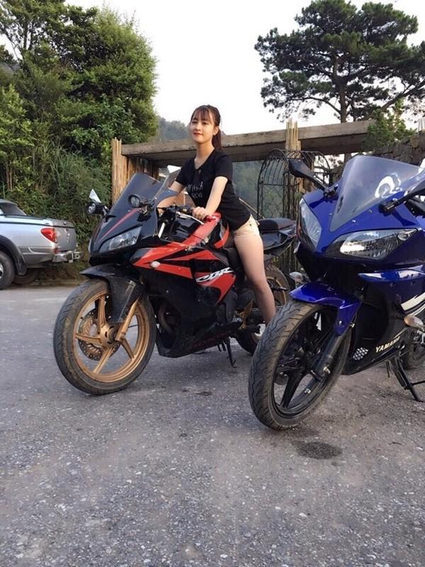 "Nu tai xe Grabbike duoc ""san lung"" vi qua xinh dep-Hinh-7"