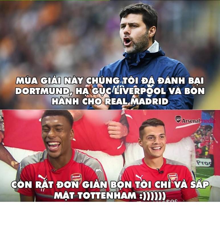 Anh che bong da: Tottenham hoa ga con khi gap Arsenal-Hinh-3