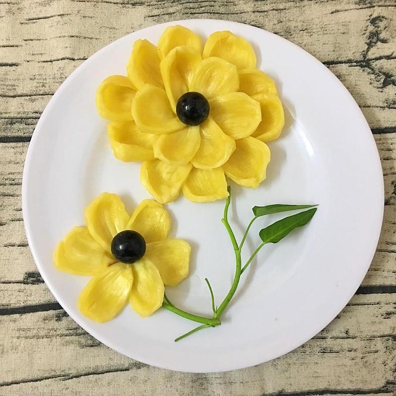 Cach xep hoa qua don gian ma dep nhu tranh-Hinh-9